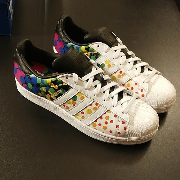 premium selection 527d5 e48f7 10 8 Shoes Size 6.5 US Men   Women adidas Superstar Pride Pack White    CM7802
